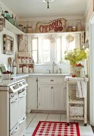 25 CHARMING SHABBY CHIC STYLE KITCHEN DESIGNS Country Kitchen DecoratingSmall Home Decorating IdeasSmall