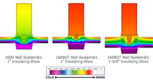 Kawneer Curtain Wall Cad Details by New 1600ut Curtain Wall System Sets The Standard In Thermal