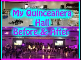 quinceanera hall decoration elegant before and after youtube