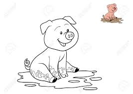Dibujos De Cerdos Para Colorear Dibujos Para Colorear