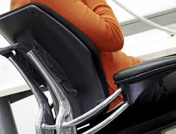 Office Chair Features That Reduce Back Pain – Quill.com Blog The Ergonomic Sofa New York Times Office Chair Guide How To Buy A Desk Top 10 Chairs Capisco By Hg Three Best Office Chairs Chicago Tribune 8 Ergonomic Ipdent Aeron Herman Miller Embroidered Extreme Comfort High Back Black Leather Executive Swivel With Flipup Arms 7 Orangebox Flo Headrest Optional Shape Bodybilt 3507 Style Midback White Mesh Mulfunction Adjustable 3 Stretches To Beat Pain Without Getting Up From Your