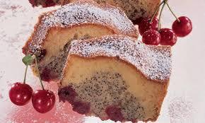 mohn kirschen kuchen rezept mohnkuchen mit streusel
