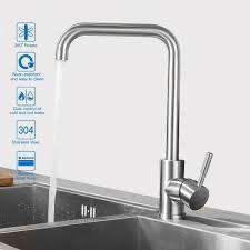edelstahl niederdruck küchenarmatur wasserhahn