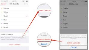 How to Permanently Delete Calendars From iPhone