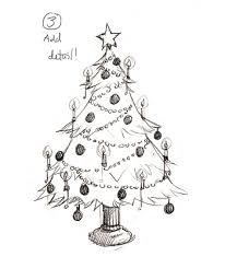 Drawing Christmas Trees