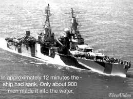 left for dead student made timeline uss indianapolis tragedy