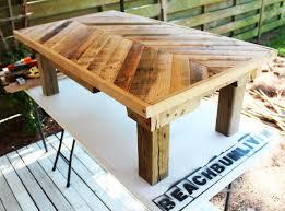 pallet wood coffee table hometalk