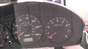 Mazda Speedo Warning Lights Not Working Engine ABS etc