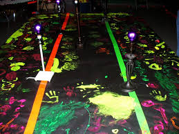 black light paint party ideas black light paint room party ideas