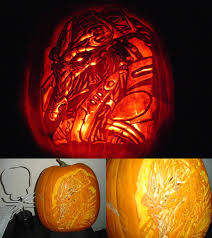 Naughty Pumpkin Carvings by Wow 2007 Pumpkin Carving Contest Winners Mmorpg Photo News