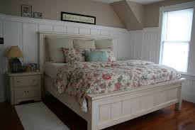 Ana White Headboard Plans by Ana White King Farmhouse Bed Diy Projects