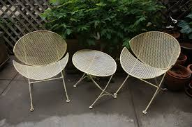 Mid Century Patio Furniture | Vtg Mid Century Salterini ... Midcentury Show Wood Upholstered Chair Mid Century Modern Danish Style Armchair Lounge China Mid Classic Design Comfortable Hans Wegner Outdoor Orkney Island Rustic Folk Organic Elegant Contemporary Fniture Plastic Midcentury Stainless Steel And Alligator Harry Bertoia Wire Side Chairs Pair Roh Noordwolde Hoop 1960 Kstar Fundus Chair Phomenal Century Scdinavian Wooden Ding Cafe The Best Sellers You Need In Your Home