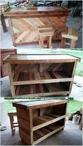 We Have Designed The Surface So Smooth With Help Of Polish You Can Also Make Small Stools This Pallet Wood Project