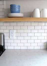 4 X 8 Glossy White Subway Tile by Best 25 Grey Grout Ideas On Pinterest White Subway Tile