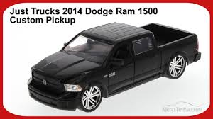 Just Trucks 2014 Dodge Ram 1500 Custom Pickup, Black - JADA 97134 ...