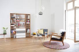 helle wohnzimmereinrichtung mycs skandinavisch