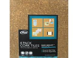 Easy Heat Warm Tiles Menards by Brd Dudes Cork Tile 1 4x12x12 Light 4pc Walmart Com