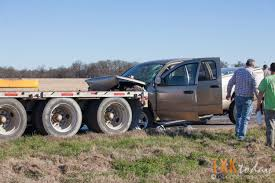 Truck Rear Ends Semitruck On U.S. 71 North | Texarkana Today Teslas Pickup Truck Could Be Like A Mini Tesla Semi Big Rig Driver Unhooks Cab Flees Deadly Hitandrun Abc7chicagocom Peterbilt Pickup Truck 1981 359 Youtube Semi Trucks Lifted 4x4 In Usa 2011 Volvo Vhd Tractor Wallpaper 16x1200 130905 Why Isnt Only Minor Injuries Headon Crash For The Record Pin By Alan Lovedy On Trucks Pinterest Rigs And This Semipickup Atbge Hot News Looks With 2007 Intertional Rxt Crew Cab Duck Covers Double Defender Standard Bed Lwb Semicustom