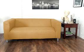 Klippan Sofa Cover Grey by Linen Look Klippan Covers Hipica Interiors