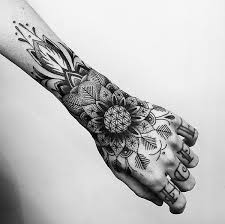 Beautiful Mandala Forearm Tattoo It Almost Seems Like The Arms Have Sprouted Pretty Flowers On