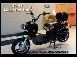 2010 Black Ruckus Style 49cc Scooter