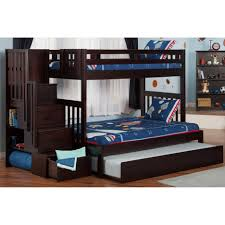 Bunk Bed Over Futon by Bunk Beds Twin Over Full Futon Bunk Bed Under Stairs Closet