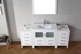 Single Sink Bathroom Vanity Set by Virtu Usa Dior 72 Single Bathroom Vanity Set In White Bathtubs Plus