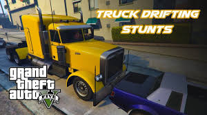 GTA 5 / GTA V Truck Epic Drifting Stunts, Parallel Parking And More ...