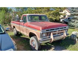 1975 Ford F250 For Sale | ClassicCars.com | CC-1006792 Hemmings Find Of The Day 1955 Ford F250 Flatbed Daily Mondo Macho Specialedition Trucks 70s Kbillys Super 1975 F150 For Sale Near Cadillac Michigan 49601 Classics On Highboy 4x4 In Waldwick New Jersey United Cabover Kings 4wheel Sclassic Car Truck And Suv Sales 1980 Flareside Motor News Ranger Pickup Truck Item M9766 So Vintage Pickups Searcy Ar F100 Classic Clifton Sc 29324 The Pickup Buyers Guide Drive Turismo Uckortreat