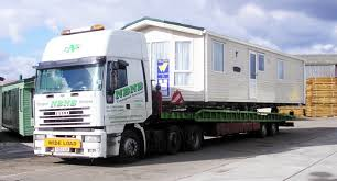 Static Caravan Transport Mobile Home Transport Caravan Haulage