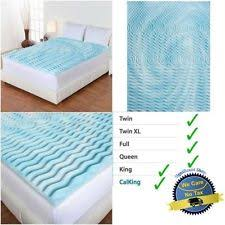 Cooling Bed Topper by Cooling Mattress Pad Ebay
