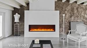 VISTA BI 60 7 Electric Fireplace Sierra Flame