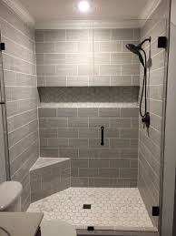 Our Finished Walk-in Shower. Walls: Florim USA 6x24 (cut In Half ... Good Looking Small Bathroom Bath Ideas Bathrooms Half Design Without Piece Enclosure Trim Enchanting Panels Options Surround 8 Top Trends In Tile For 2019 Home Remodeling Shower Wall For Tub 59 Simply Chic Floor And Designs Apartment Therapy 15 Cheap Remodel Light Grey Tiles Best Beautiful Tiling A Shower Wall Travertine Tile Paint 10 Of The Most Exciting How To Install Howtos Diy