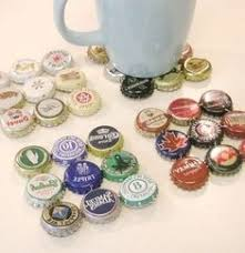 15 DIY Projects To Have Coasters Beer Cap CraftsBeer Bottle