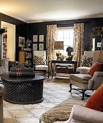 Brown Living Room Decorating Ideas With Walls