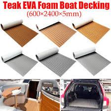 Nautolex Marine Vinyl Flooring by 600x2400mm Marine Boat Flooring Carpet Mat Faux Teak Eva Foam