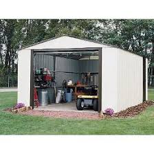 compare arrow murryhill vinyl coated garage type steel storage