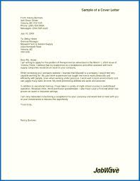 Cover Note For Job Cover Letter For Specific Job Cover Letters Job