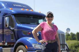 100 Truck Stop San Diego Bourbon County Woman Partners With Trucker Husband For Long Road