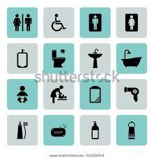 toilettensymbol badezimmer symbol symbol