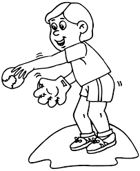Free Printable Baseball Coloring Pages Coloringfilminspector