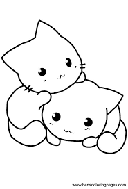 Cute Cat Colouring Pages 11 Coloring To Download And Print For Free