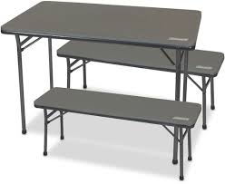 Pack Away Table & Bench 3 Pce Set