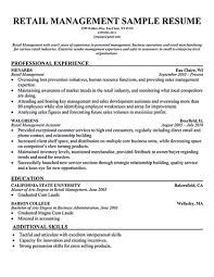 Cashier Resume Examples From Sample For Retail Store Formidable Grocery