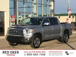 New 2018 Toyota Tundra 4x4 Crewmax Limited 5.7L 4 Door Pickup In Red ...