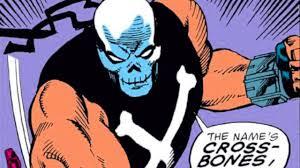 Crossbones Comic Book Origins