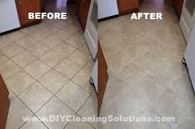 diy cleaning solutions for tile grout and grout brush
