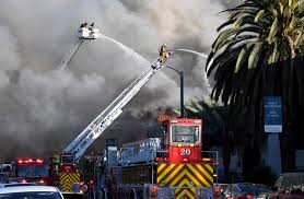 100 Rush Truck Center Pico Rivera Fire Erupts At Apartment Building Whittier Daily News