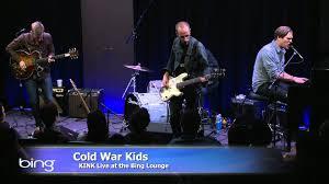 cold war kids hospital beds bing lounge youtube
