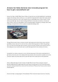 100 Used Cars And Trucks For Less Phoenix Arizona Used Cars And Trucks